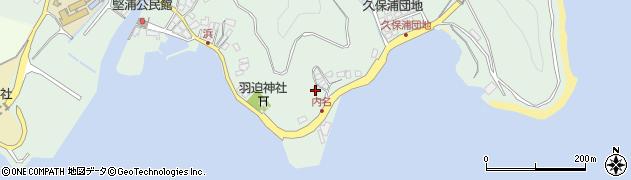 大分県津久見市堅浦1118周辺の地図