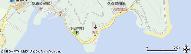 大分県津久見市堅浦1119周辺の地図