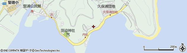 大分県津久見市堅浦1174周辺の地図