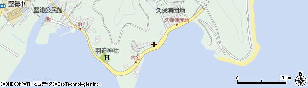 大分県津久見市堅浦1177周辺の地図