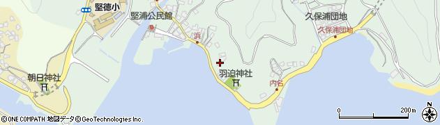 大分県津久見市堅浦1067周辺の地図