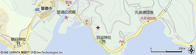 大分県津久見市堅浦1070周辺の地図
