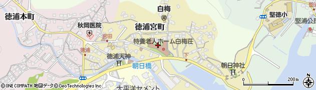 大分県津久見市徳浦宮町6周辺の地図