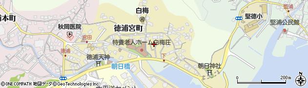 大分県津久見市徳浦宮町8周辺の地図