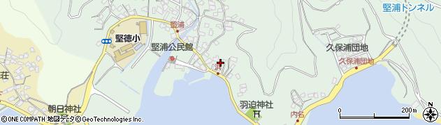 大分県津久見市堅浦1049周辺の地図