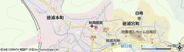 大分県津久見市徳浦本町7周辺の地図