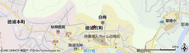 大分県津久見市徳浦宮町5周辺の地図