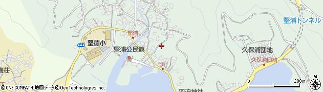 大分県津久見市堅浦1035周辺の地図
