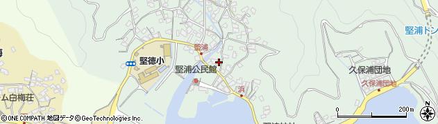 大分県津久見市堅浦919周辺の地図