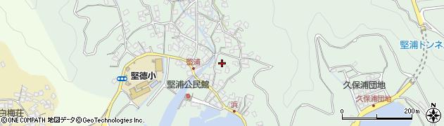 大分県津久見市堅浦911周辺の地図