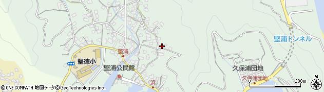 大分県津久見市堅浦969周辺の地図