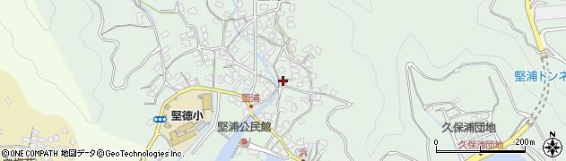 大分県津久見市堅浦363周辺の地図