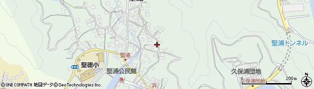 大分県津久見市堅浦944周辺の地図