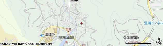 大分県津久見市堅浦904周辺の地図