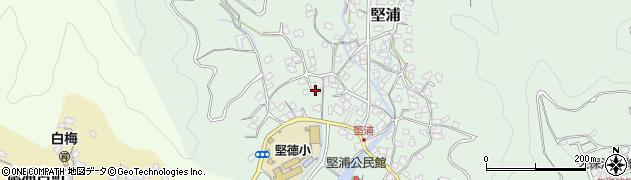 大分県津久見市堅浦273周辺の地図