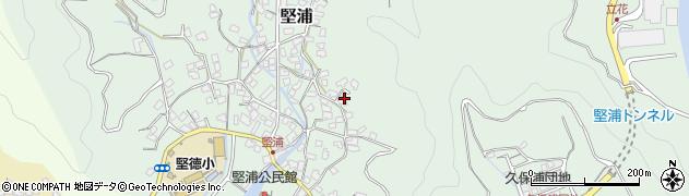 大分県津久見市堅浦961周辺の地図
