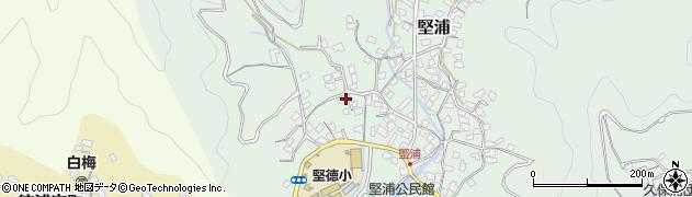 大分県津久見市堅浦270周辺の地図
