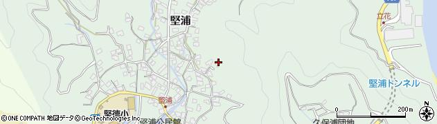 大分県津久見市堅浦960周辺の地図