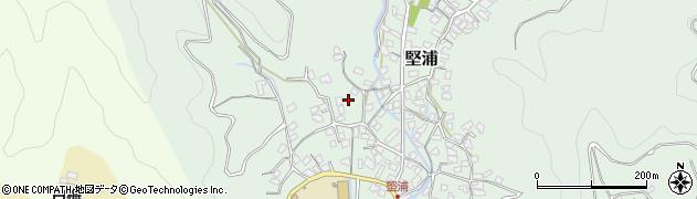 大分県津久見市堅浦265周辺の地図