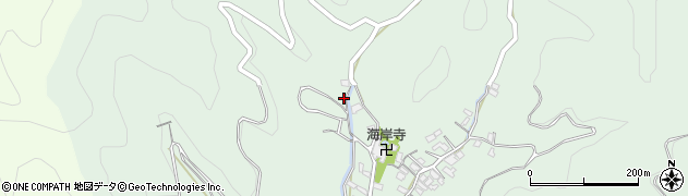大分県津久見市堅浦450周辺の地図