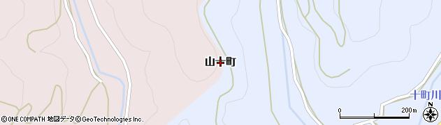 熊本県和水町(玉名郡)山十町周辺の地図