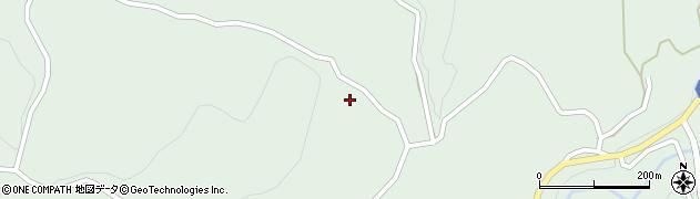 大分県竹田市直入町大字上田北886周辺の地図