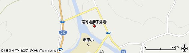 熊本県南小国町(阿蘇郡)周辺の地図