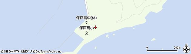 大分県津久見市保戸島23周辺の地図
