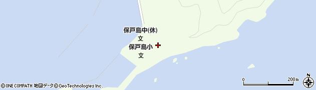 大分県津久見市保戸島24周辺の地図