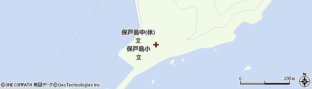 大分県津久見市保戸島26周辺の地図