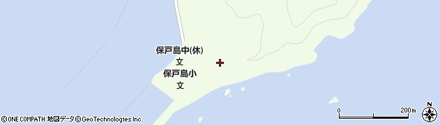 大分県津久見市保戸島串ケ脇周辺の地図