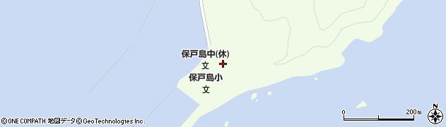 大分県津久見市保戸島33周辺の地図