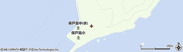 大分県津久見市保戸島37周辺の地図