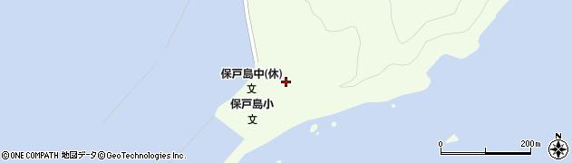 大分県津久見市保戸島35周辺の地図