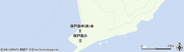 大分県津久見市保戸島44周辺の地図