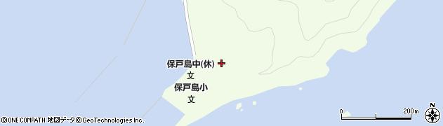 大分県津久見市保戸島43周辺の地図