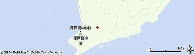 大分県津久見市保戸島63周辺の地図