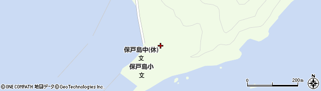 大分県津久見市保戸島55周辺の地図