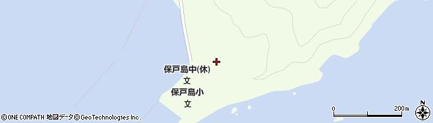 大分県津久見市保戸島59周辺の地図