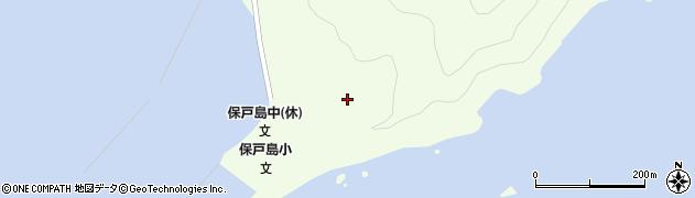 大分県津久見市保戸島206周辺の地図
