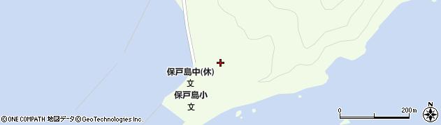 大分県津久見市保戸島58周辺の地図