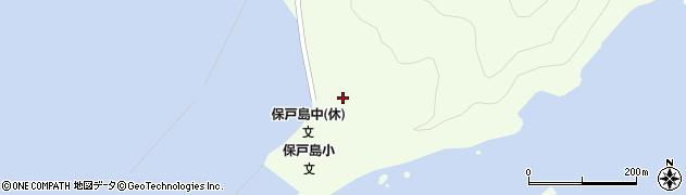 大分県津久見市保戸島51周辺の地図