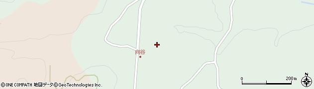 大分県竹田市直入町大字上田北1155周辺の地図