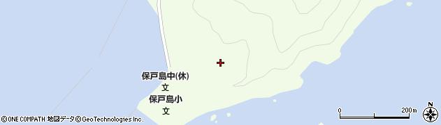 大分県津久見市保戸島205周辺の地図