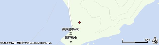 大分県津久見市保戸島86周辺の地図