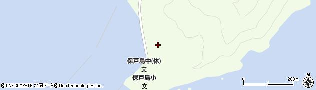 大分県津久見市保戸島92周辺の地図