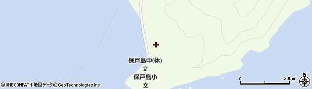 大分県津久見市保戸島94周辺の地図