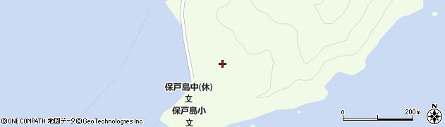大分県津久見市保戸島78周辺の地図