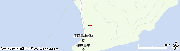 大分県津久見市保戸島95周辺の地図