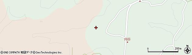 大分県竹田市直入町大字上田北1174周辺の地図